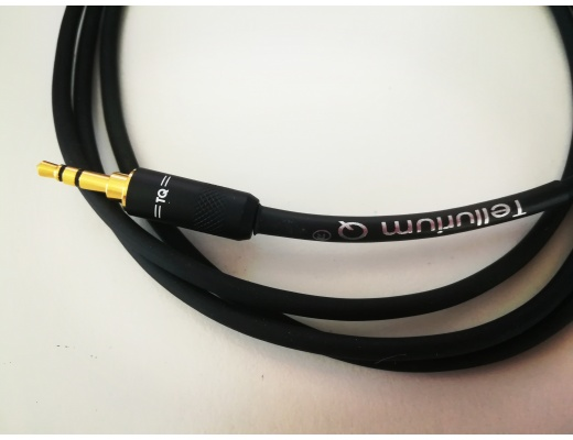 Tellurium Q Black minijack-minijack Cable 3.5mm