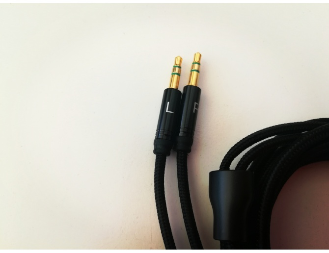 HiFiMAN original Sundara Cable with 6.35 mm jack connector