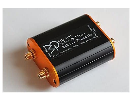 Bakoon Products FIL-3101 Filtro audio RF Eliminatore di rumore digitale