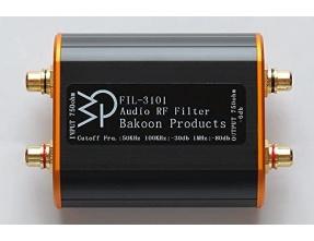 Bakoon Products FIL-3101 Audio RF Filter Digital Noise Eliminator