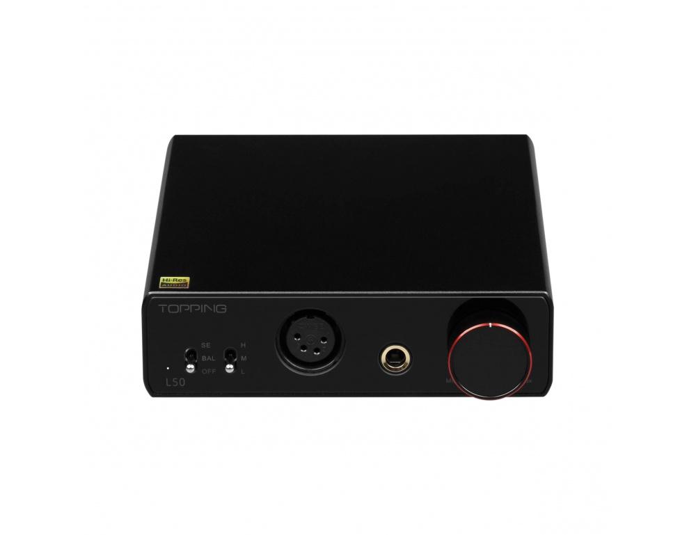Topping L50 e Topping E50. Un mini impianto cuffia. Topping-l50-amplificatore-per-cuffie-desktop-nfca