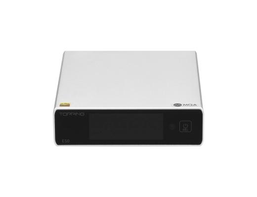 Topping E50 Balanced DAC ES9068AS XMOS XU216 MQA 32bit 768kHz DSD512