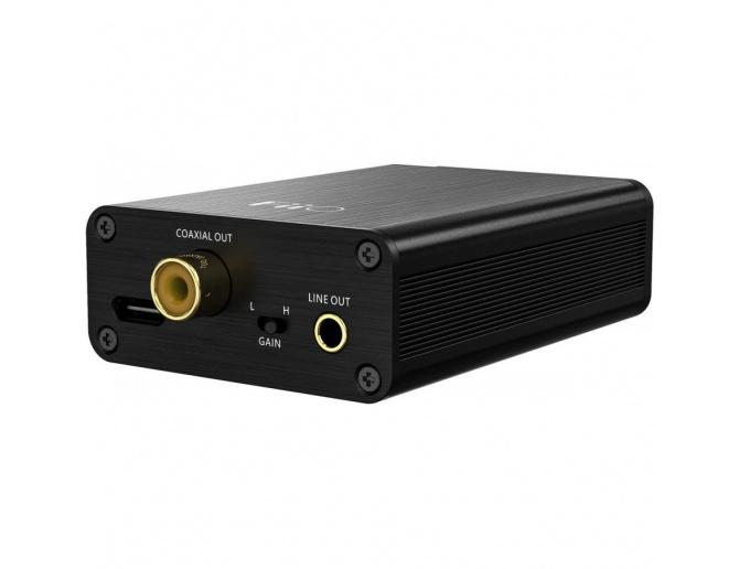 FIIO E10K TC USB DAC Mobile headphone amplifier 32Bit/384kHz XMOS XUF208