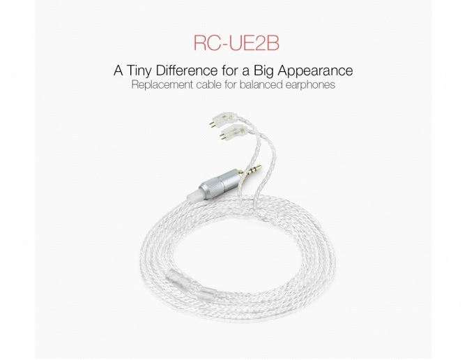 FiiO RC-UE2B Balanced Replacement Cable for Ultimate Ears