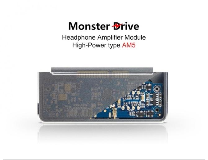 FiiO AM5-X7 Amplifier module upgrade for FiiO X7 and Q5