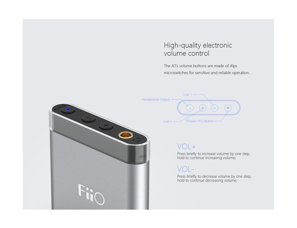 FiiO A1 Amplificatore portatile per cuffie Fiio-a1-portable-headphone-amplifier