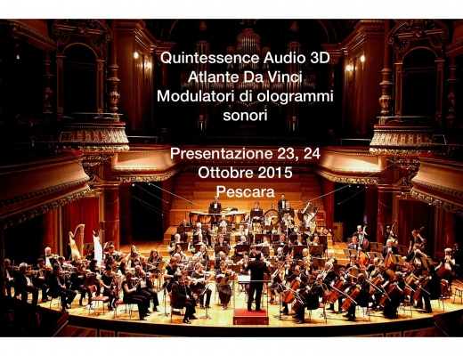 Quintessence Audio 3D Atlante Da Vinci introduction 23-24 Ott