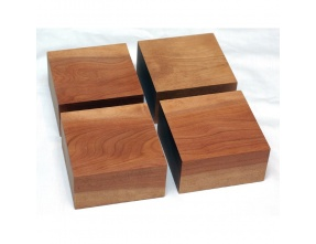 Yamamoto BB-50 Wood bases for large speakers in Cherry Asada Woo