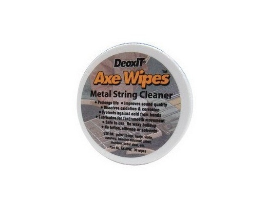 Caig DeoxIT AxeWipes metal strings treatment