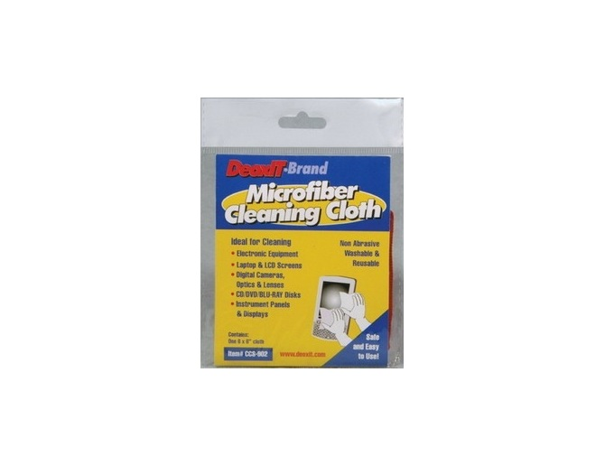 Caig DeoxIT Cleaning Cloth Panno in microfibra