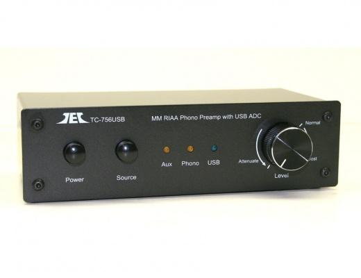 TCC TC-756 Preampli Phono con uscita USB