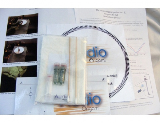 Audio Origami Turntable Booster Oil Kit