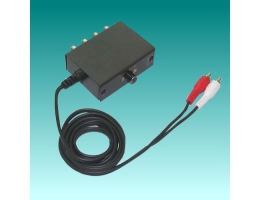 TCC TC-12 Selettore per 2 ingressi audio stereo con cavo in uscita