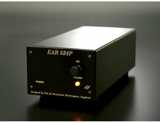 E.A.R. Yoshino 834P MM No Volume Phono Valve Preamp black [used]