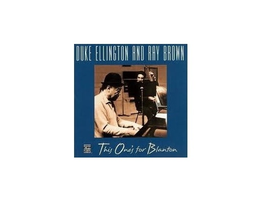 Duke Ellington and Ray Brown - This One's For Blanton - CD