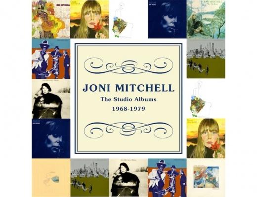 Joni Mitchell - The Studio Albums 1968-1979 - 10 CD Box