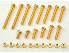 Yamamoto BT-2 Brass Cartridge fixation bolt upgrade set