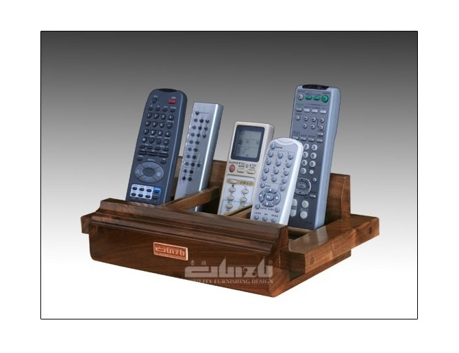 Guizu CRW-1 - Porta telecomandi in legno