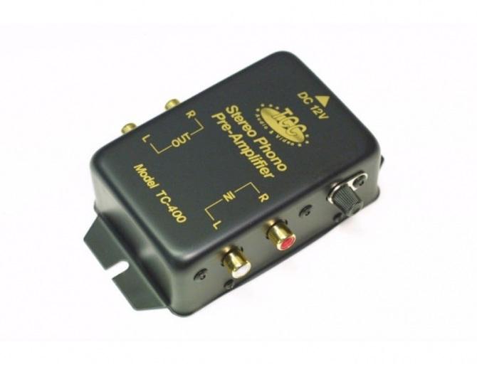 TCC TC-400GL Preamplificatore Phono