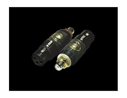 Cardas Female XLR to RCA Adapter black series (Set of 2)