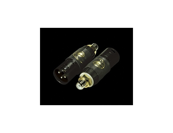 Cardas Male XLR to RCA Adapter black series (Set of 2)