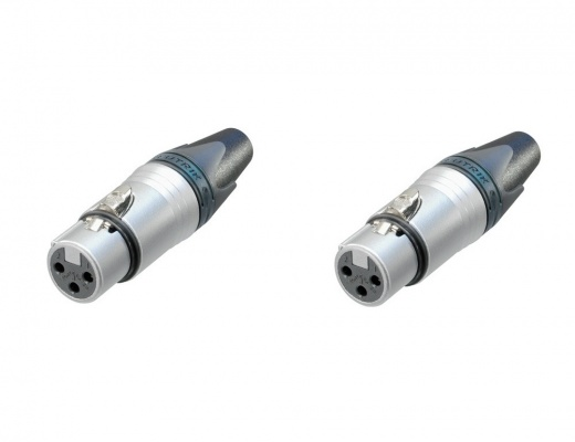 XLR Neutrik female Connector 3 pin