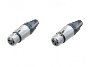 XLR Neutrik female Connector 3 pin
