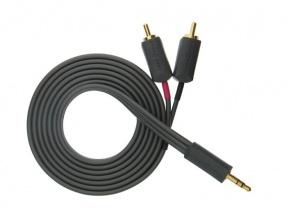 WireWorld I-World minijack/RCA Stereo Cable 1.5m