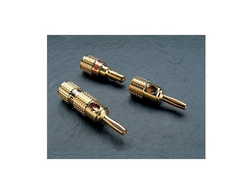 G&BL Hipower series Banana prof. connectors (Set of 4)