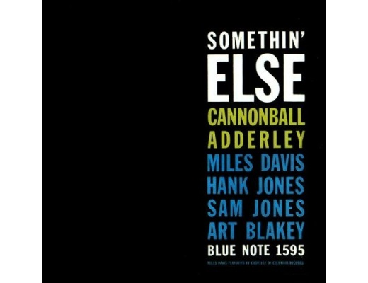 Cannonball Adderly - Somethin' Else - LP