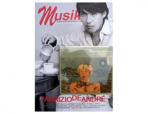 Musikbox (nuova serie) n. 36 - Fabrizio De André (CD incluso)