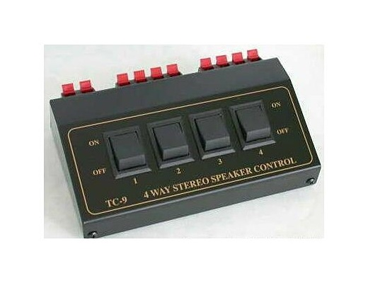 TCC TC-9 4-Way Stereo Speaker Selector