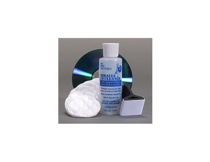 Disc Doctor's Miracle CD Cleaner & Polishing Kit