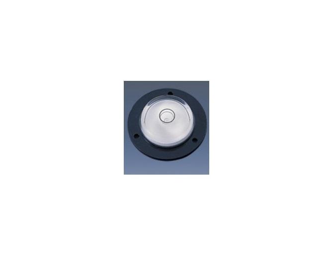 Circular spirit level for turntables 43mm