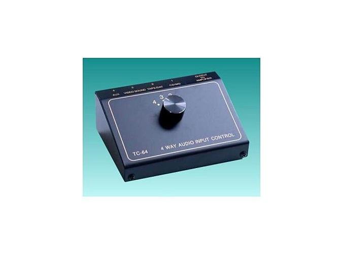 TCC TC-64 4-Way Audio Input Switch