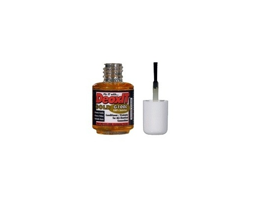 Caig DeoxIT GOLD (ProGold) 100% contacts Liquid Brush 7,4ml