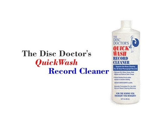 Disc Doctor's Quick Wash Record Cleaner - fluido 943ml