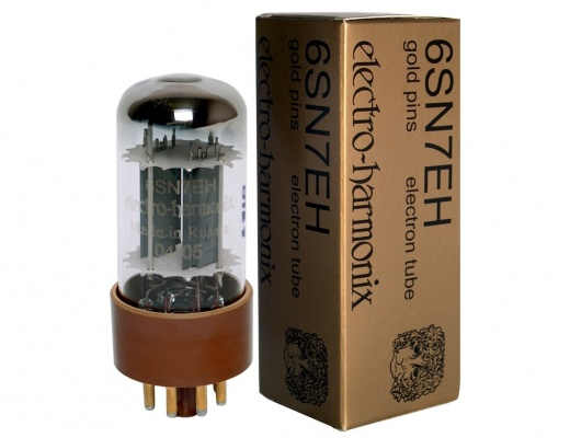 Valvole Electro-Harmonix 6SN7 Gold Pins Coppia Selezionata