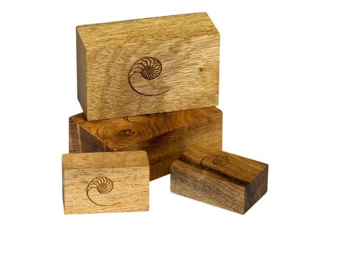 Cardas Myrtle Wood Blocks (Set of 6)