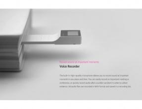 Cowon E3 8Gb Lettore digitale ultra portatile