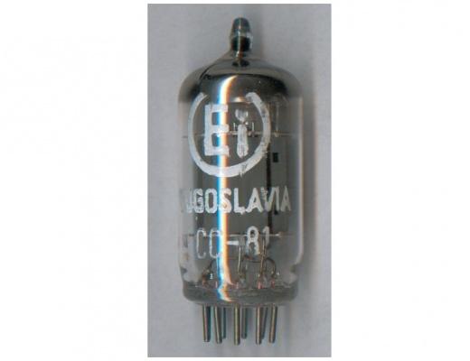 Valvole E.i. Yugo ECC81 / 12AT7