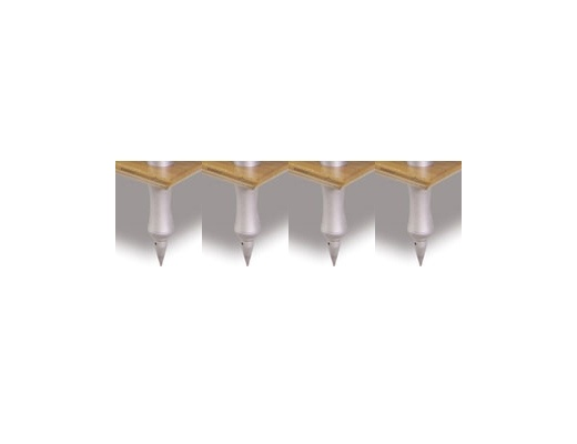 Quadraspire 32mm Base Columns Feet (Set of 4)