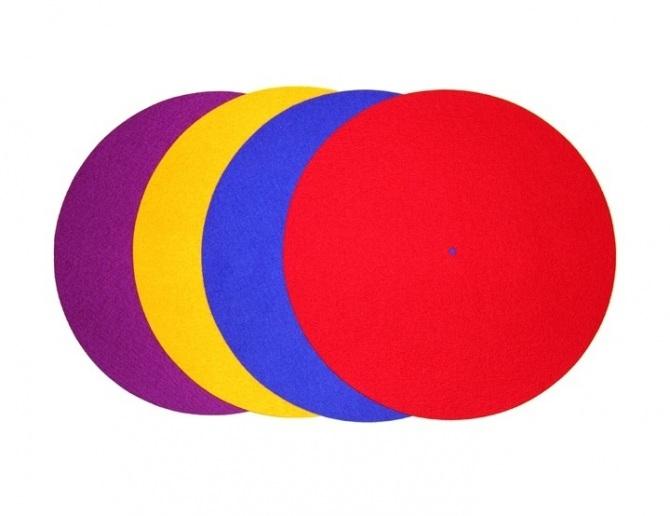 Tappetino per giradischi Rega colorato