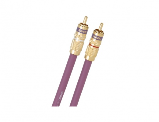 SAEC SL-1801 RCA Interconnect Cables