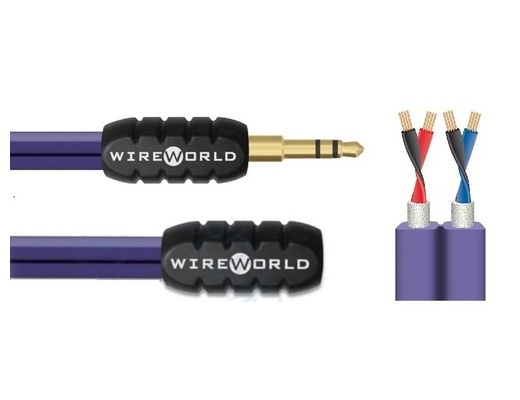 WireWorld Pulse female to male minijack (MPF) Stereo Cable