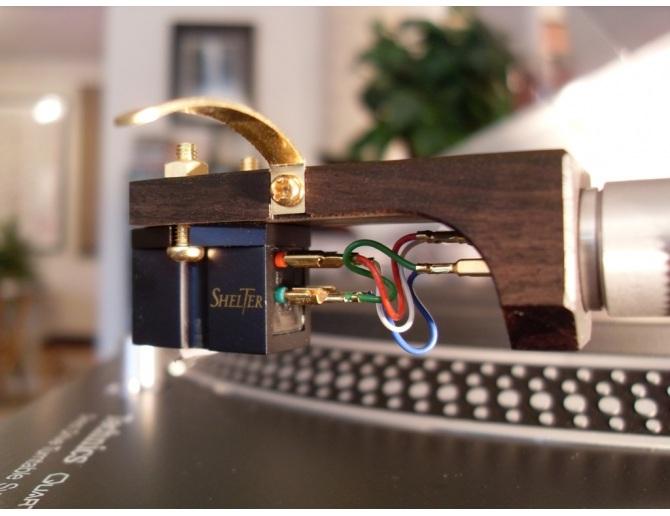 Yamamoto HS-1A Sound Craft African ebony wood Headshell with tracking