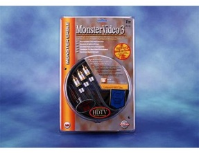 Monster Video3 MV3CV 3 Cavi Video RCA