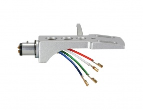 Headshell for turntable with cable