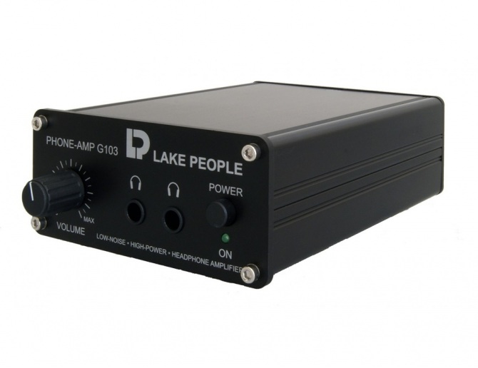 Lake People G103-S Headphone Amplifier