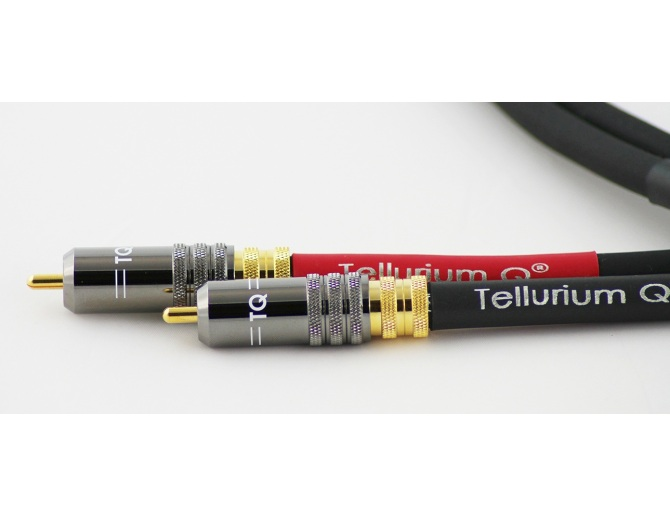 Tellurium Q Black RCA Interconnects